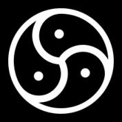 BDSM logo triskelion